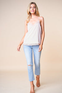 Mexicali Mama Striped Cami
