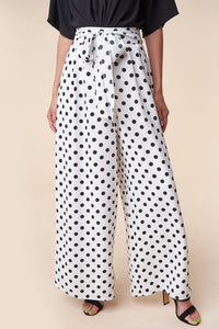 Cutie Polka Dot Wide Leg Pants