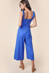 Lucky Lady Lace Up Jumpsuit