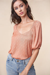 Bittersweet Puff Sleeve Blouse