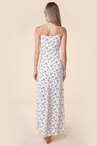 Everlasting Romance Floral High-Low Maxi Dress