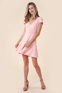 Girl Next Door Fit-N-Flare Mini Dress
