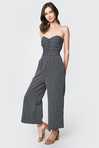 Jubilee Strapless Wide Leg Jumpsuit