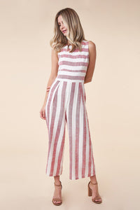 Lany Striped Wide Leg Jumpsuit