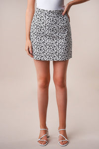 Wildest Dreams Leopard Mini Skirt