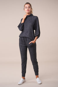 Cabins Mock Neck Knit Top