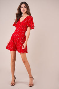 San Diego Dotted Swing Dress