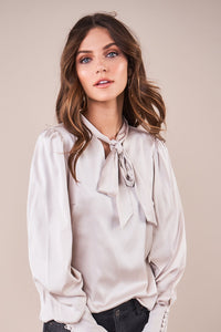 Rush Hour Bow Tie Blouse