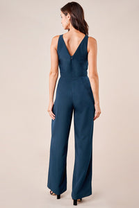 Late Night Lace Inset Jumpsuit