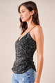 Shining Superstar Sequin Surplice Cami