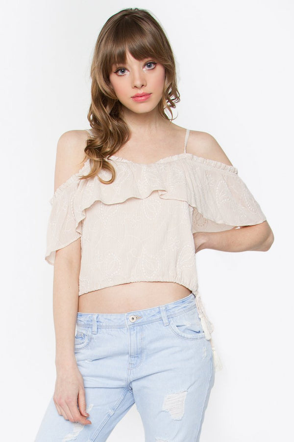 Madelyn Cold Shoulder Top