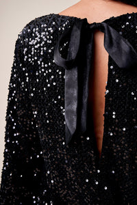 Light Up The Night Sequin Shift Dress