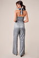 Shimmering Light Halter Jumpsuit