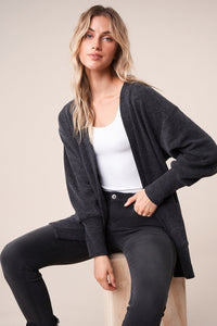 Central Perk Oversized Ribbed Cardigan Sweater