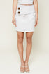 Mooncrest Wrap Mini Skirt
