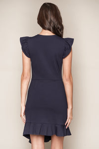 Malorie Ruffle Bodycon Dress