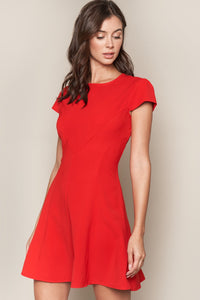 Bueno Short Sleeve Shift Dress