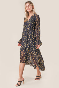 Loving You Floral High Low Maxi Dress