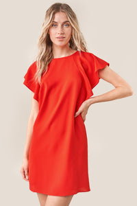 Ardin Bat Wing Shift Dress