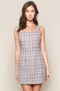 Rhapsody Tweed Mini Dress