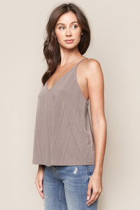Now And Then Ribbed Knit Cami