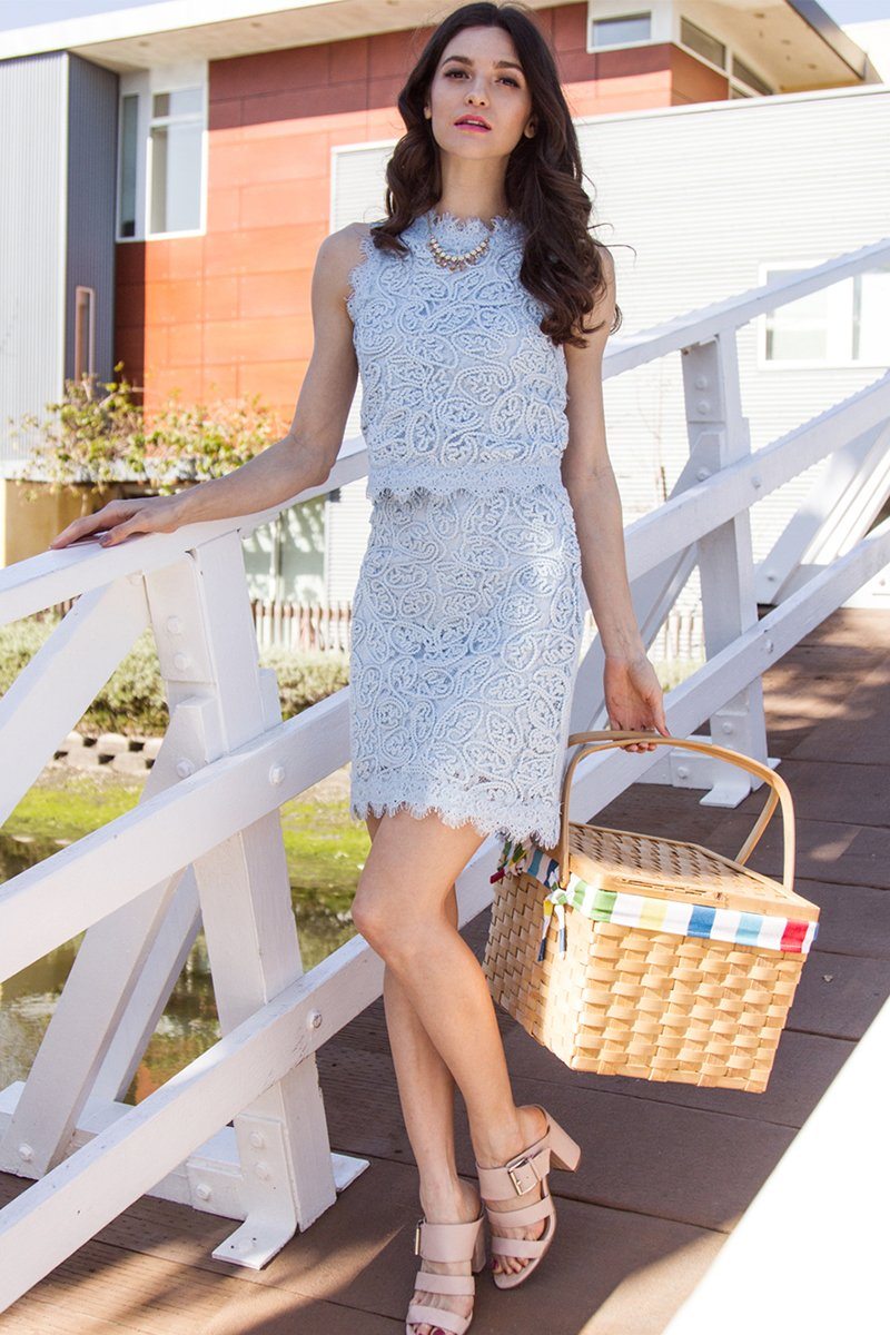 Cordelia Lace Skirt