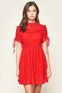 Lomitas Babydoll Lace Dress