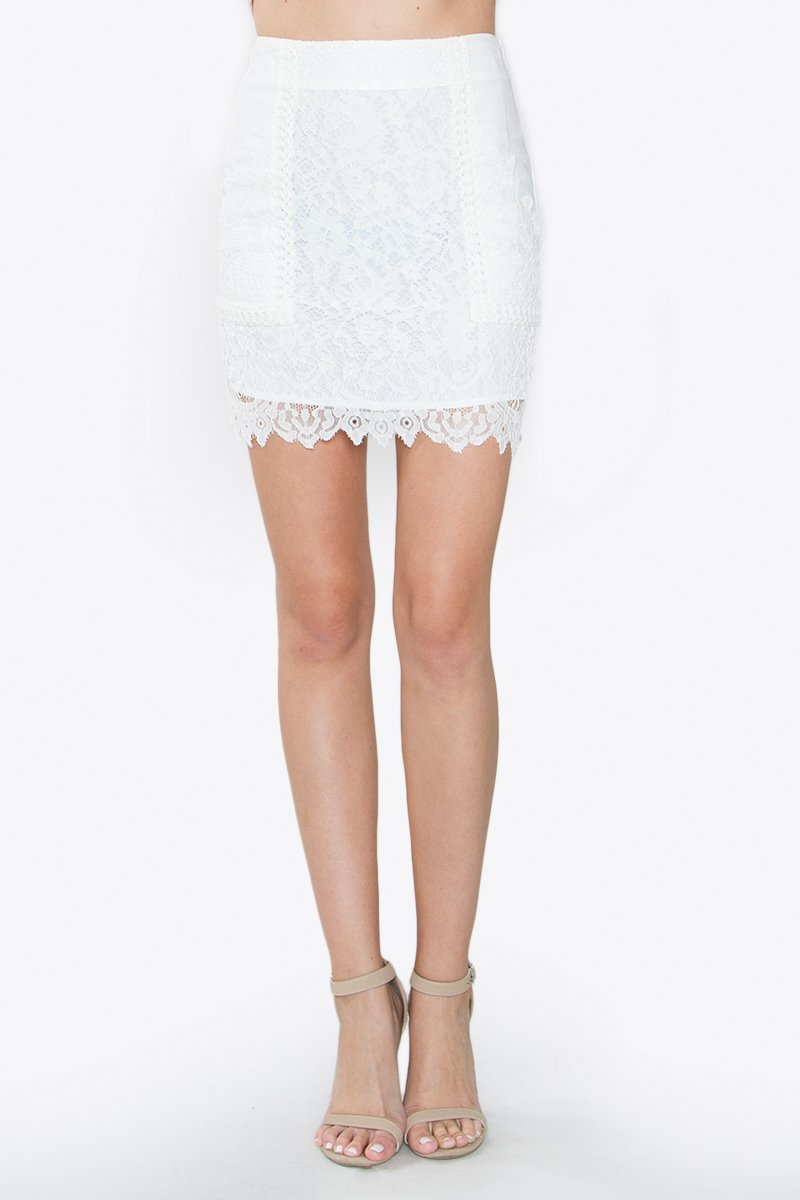 Lane Crochet Skirt