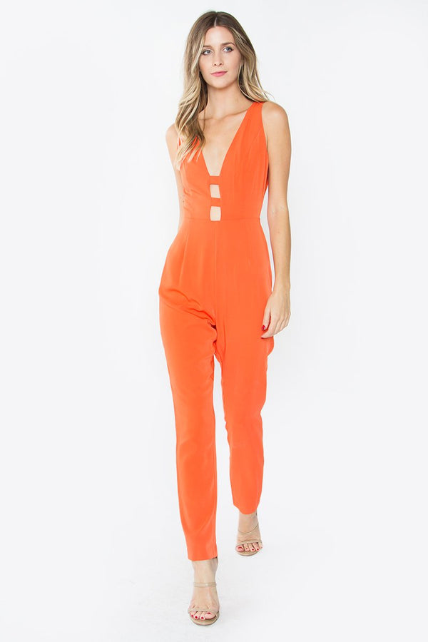 Orange Punch Jumpsuit