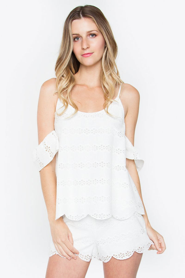 Lynn Open Shoulder Top