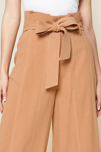 Outback Cropped Paper Bag Waist Pants