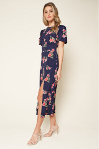 Morning Bloom Floral Midi Dress