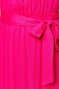 Orchid Ruffled Maxi Dress