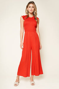 Adore Me Smocked Jumpsuit