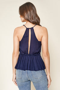 Good News Plunging Ruffle Cami