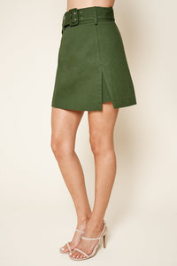 Arabella Belted Mini Skirt
