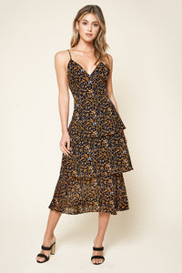 Rowan Tiered Midi Dress