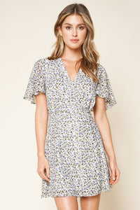 Forty Floral Print Mini Dress