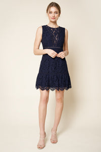 My Sweetheart Lace Mini Dress