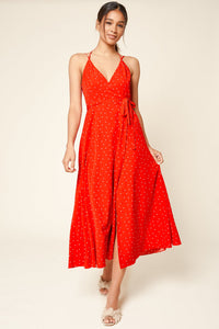 Sweetly Seranaded Polka Dot Midi Dress