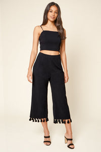 Stay Extra Square Neck Crop Top