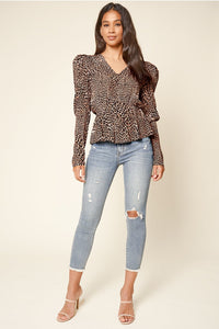 Dance the Night Away Puff Sleeve Top