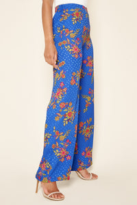Harlow Floral Satin Pants