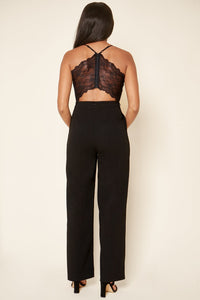 Lowell Cut Out Back Jumpsuit