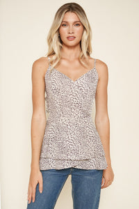 Carnaby Leopard Cami Top