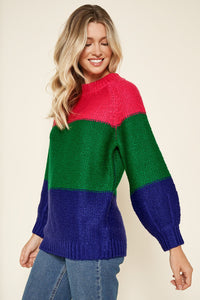 Powerpuff Colorblock Sweater