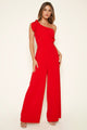 Grecian One Shoulder Jumpsuit