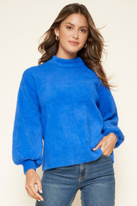 Amanda Eyelash Sweater