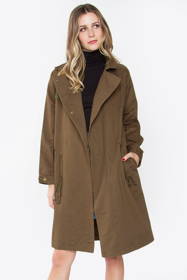 Dylan Anorak Trench Jacket