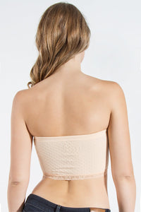 Textured Lace Bandeau